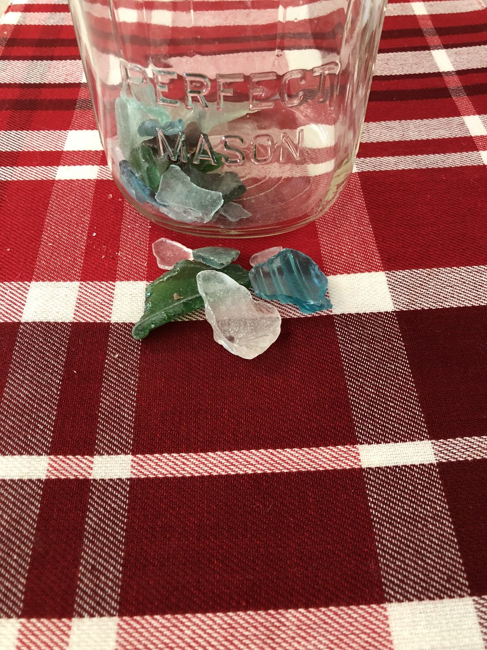 Sea Glass in New York Finger Lakes, Oneida Lake, Otisco Lake.