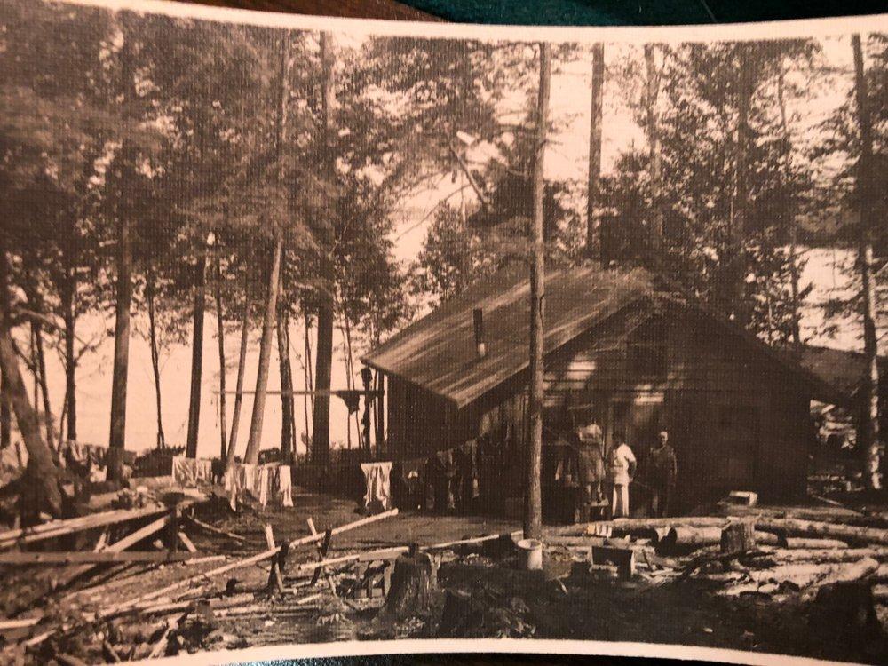 1925 lake cabin vintage
