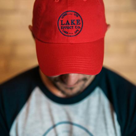 Red Logo Ball Cap