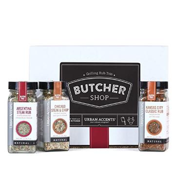 Butcher Shop Grilling Rub Trio