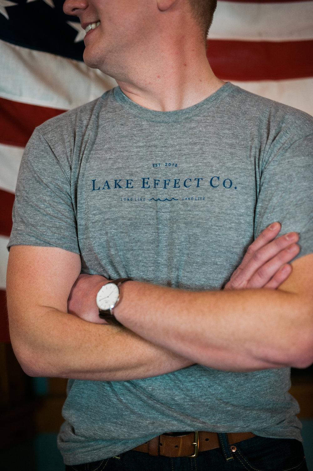 Crew T-Shirt, Athletic Gray