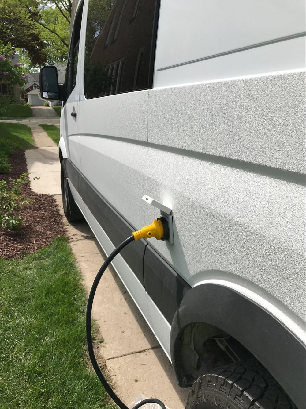 sprinter van electrical plug conversion