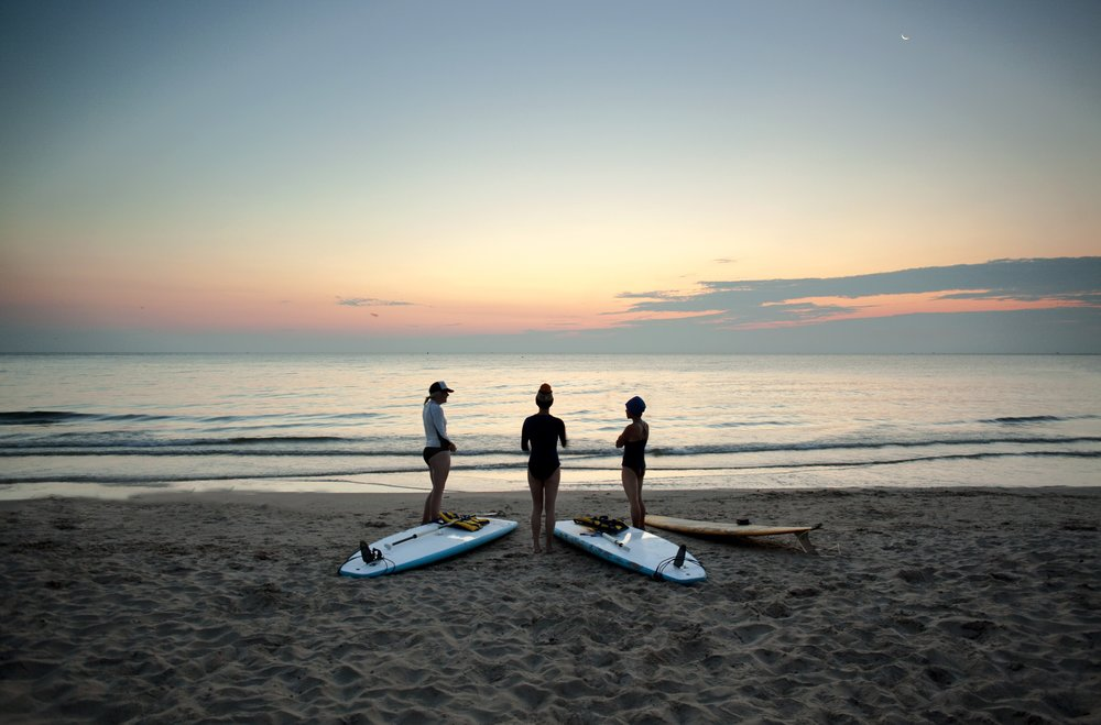 Annual Sunrise Paddle at Surf @Water Event in Milwaukee, WI