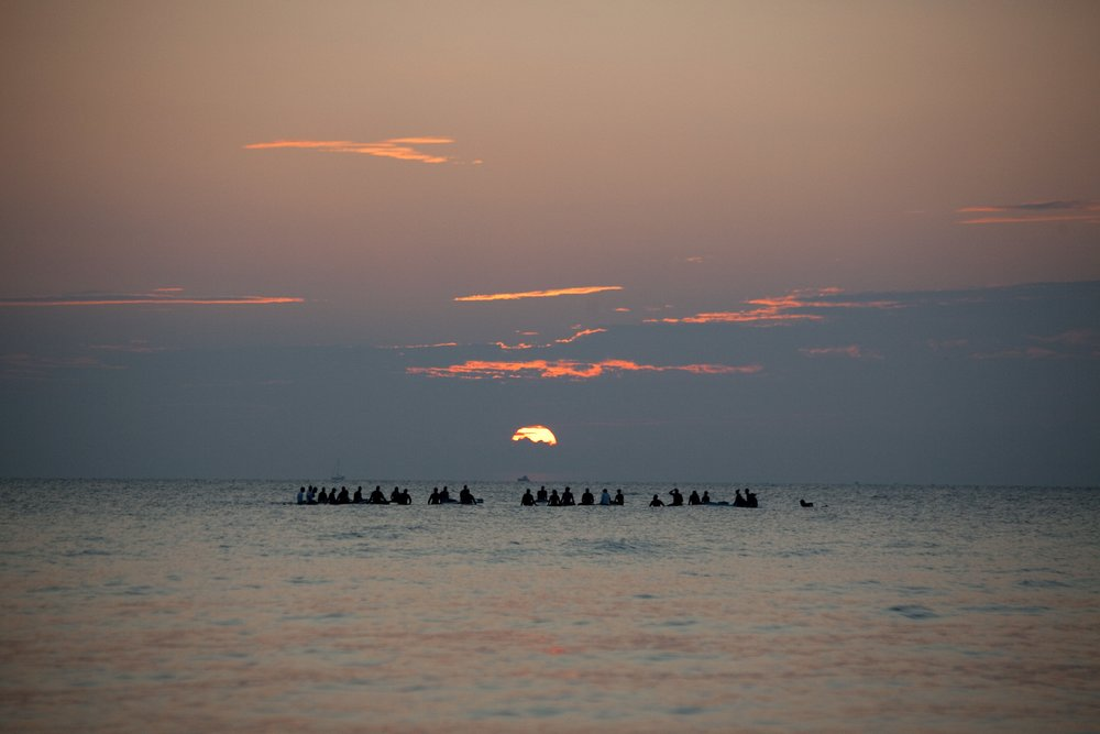 Surfrider Foundation Sunrise Paddle at Annual Surf @Water Event