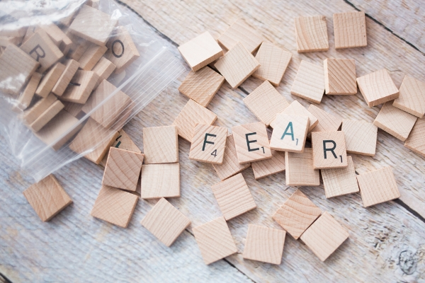 Scrabble Words Fear
