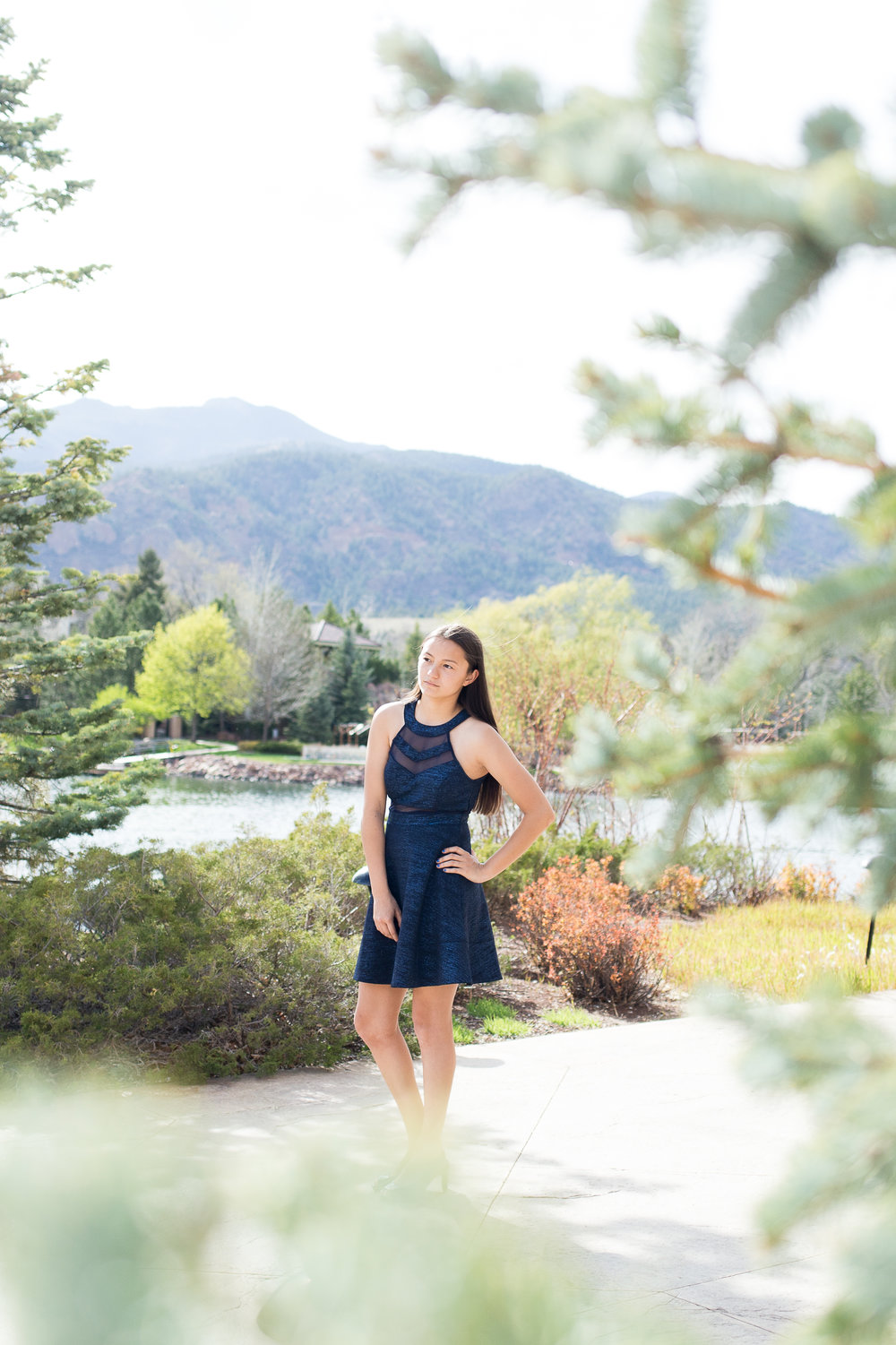 Colorado Springs Senior Portraits | Colorado Springs Senior Photography | The Broadmoor Senior Photography | Stacy Carosa Photography