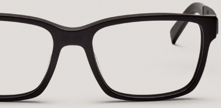 Eyeglasses frames and lenses.