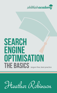 Search Engine Optimisation: The Basics Ever wondered how search engines work and why some websites appear higher up in the search results than others? This book explain how basic SEO principles work. Available in paperback and Kindle formats on Amazon