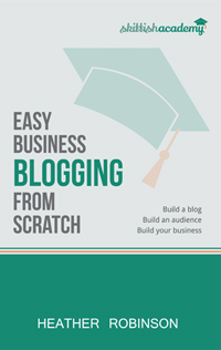 Easy Business Blogging from Scratch How to build your first blog, build and engage with your audience and build your business with content marketing. Available in paperback and Kindle formats on Amazon