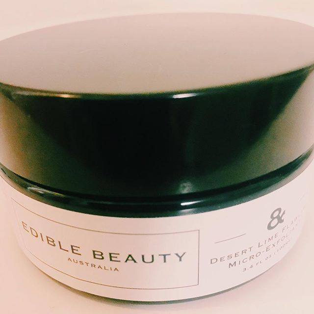 @ediblebeautyau desert lime flawless Micro-exfoliant with Strawberry + Lime fruit extracts works to brighten, tone and purify the skin. #ediblebeauty #lime #brighten #beauty #skin