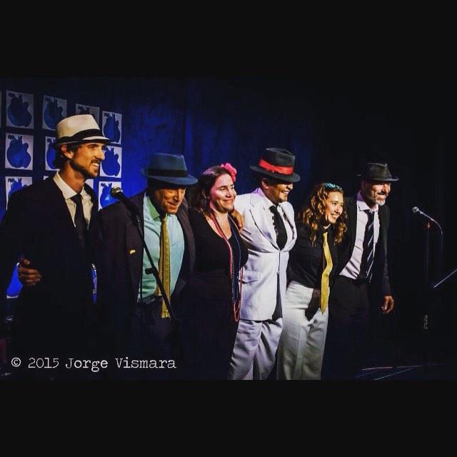Cast of Celebrating Noel Rosa