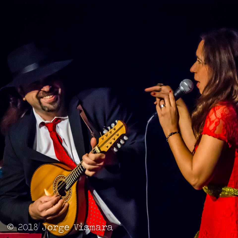 Ted Falcon and Kátia Moraes during the 7th Brazilian Heart Celebration paying homage to Jacob do Bandolim!