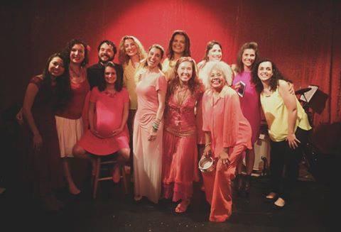 2016 Brazilian Heart Celebration honoring Rita Lee. From left: Kanami, Deborah Edler Brown, JP Mourão, Mariana Goulart, Ana Gazzola, Carla Hassett, Ana Laidley, Katia Moraes, Sonia Santos, Mariana Leite, Caro Pierotto and Ana Barreiro.