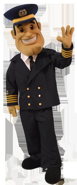 Captain SS Badger Lake Michigan Carferry .png