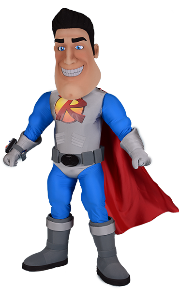 Super Hero Reliant Man Relian Air Conditioning.png