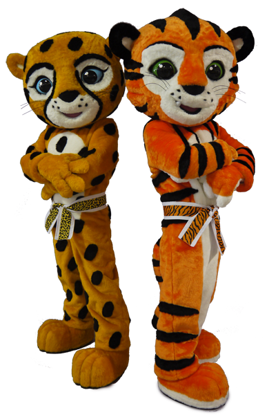 Cheetah and Tiger American Taekwondo Association.png