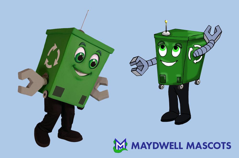 Recycling Bin Cargo