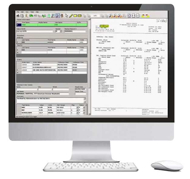 Automated Document Indexing User Interface Image