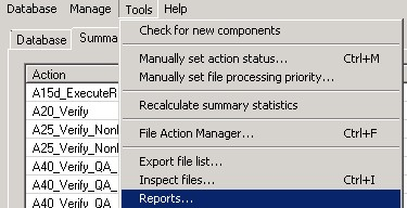 Extract Reporting
