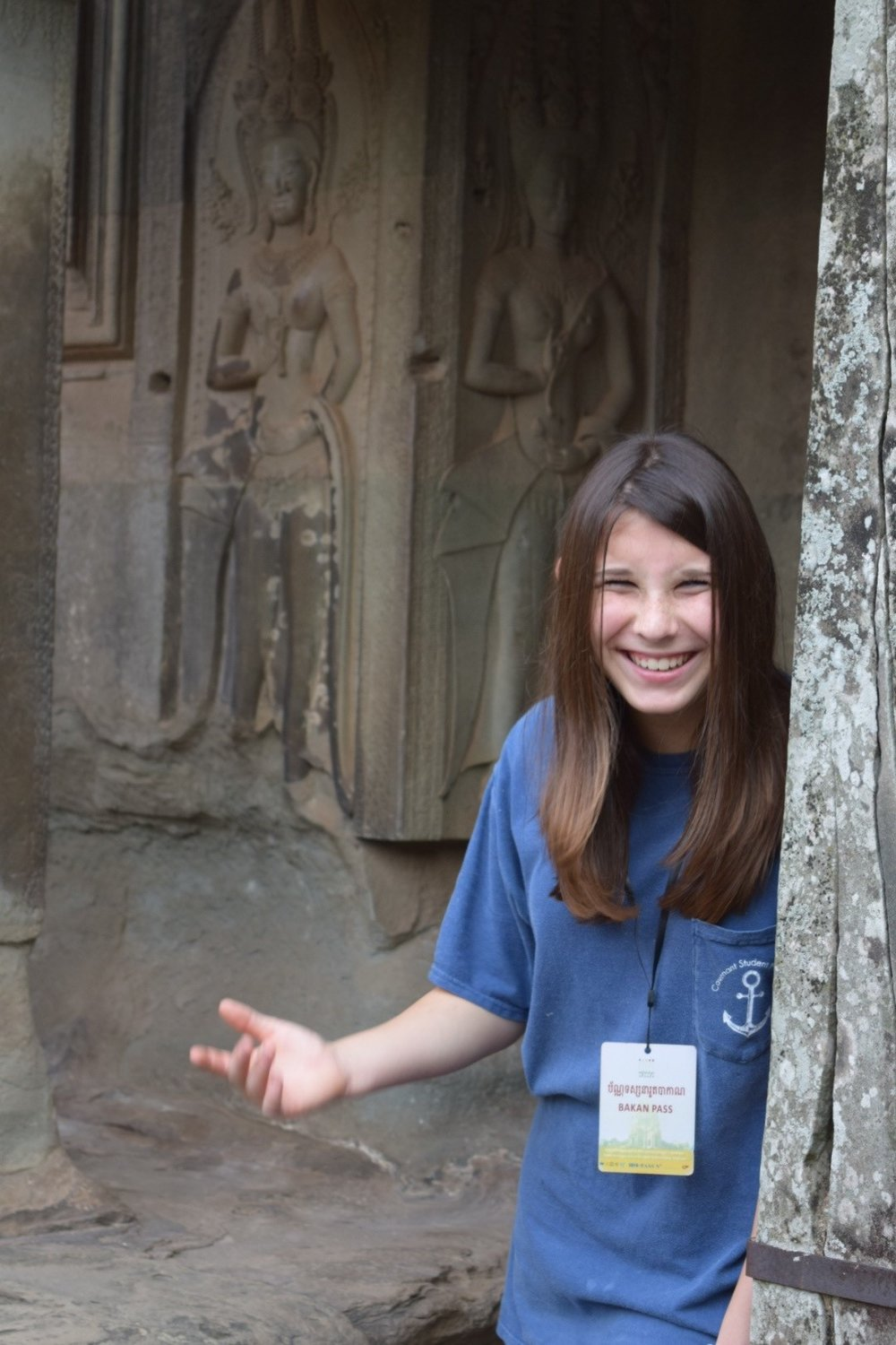 A teenager's perspective on Angkor Wat.