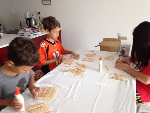 "Woodwork at ""Grandmommy Camp""!"