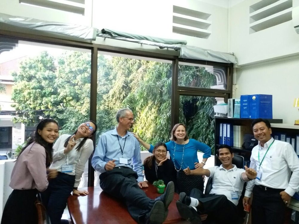 The Legal Department of IJM-Cambodia -- plus Thais. (Because, honestly -- who wouldn't take Thais?)