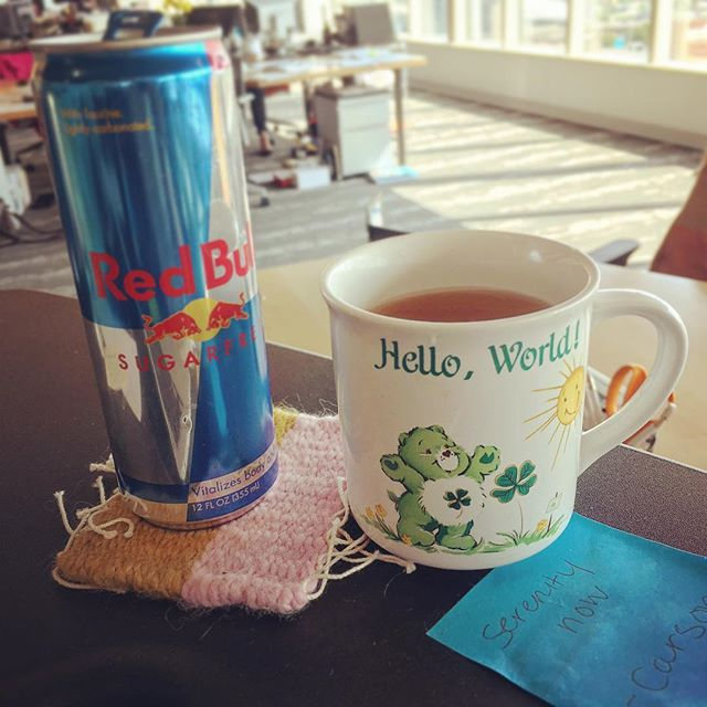 Another successful @strawberryswingkc in the books! Thanks to everyone who came out to support me yesterday in #kcmo. This photo pretty much sums up my current state of affairs 😬But you all (aka customers/friends/supporters) make it well, well worth it. Even if it means drinking @redbull from a mug on a Monday to get through the day job. #thankyouall