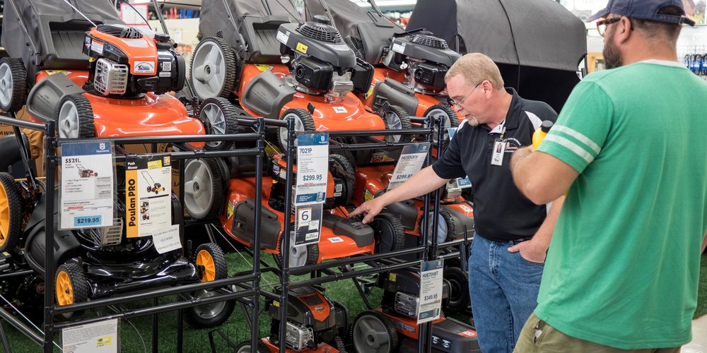 •Our inventory includes three tiers of push mowers guaranteeing a match for you. Our team is eager and ready to assist you with any questions you may have. - *Financing may be available on select models.