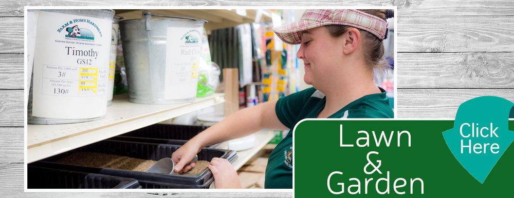 Lawn & Garden Home Page Banner