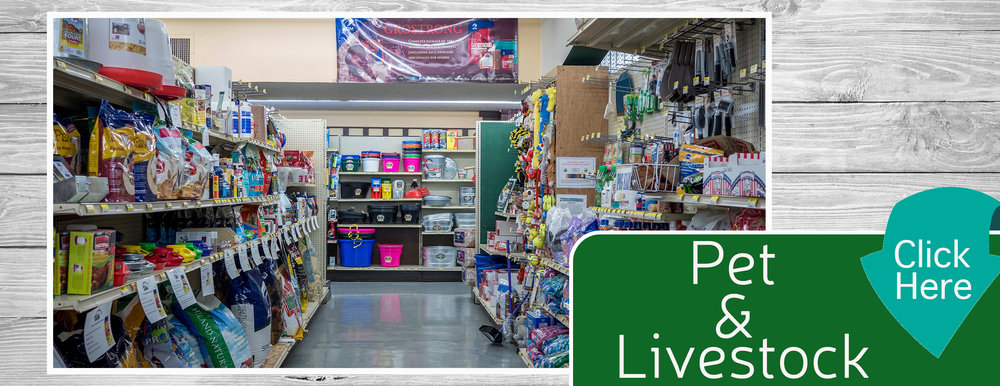 Pet & Livestock Home Page Banner