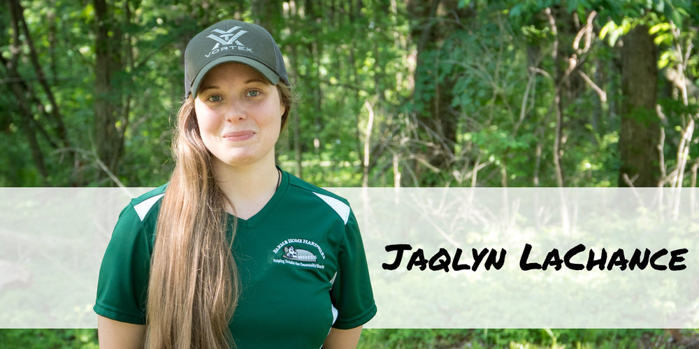 Sporting Goods team member Jaqlyn Wallace of Farm & Home Hardware.