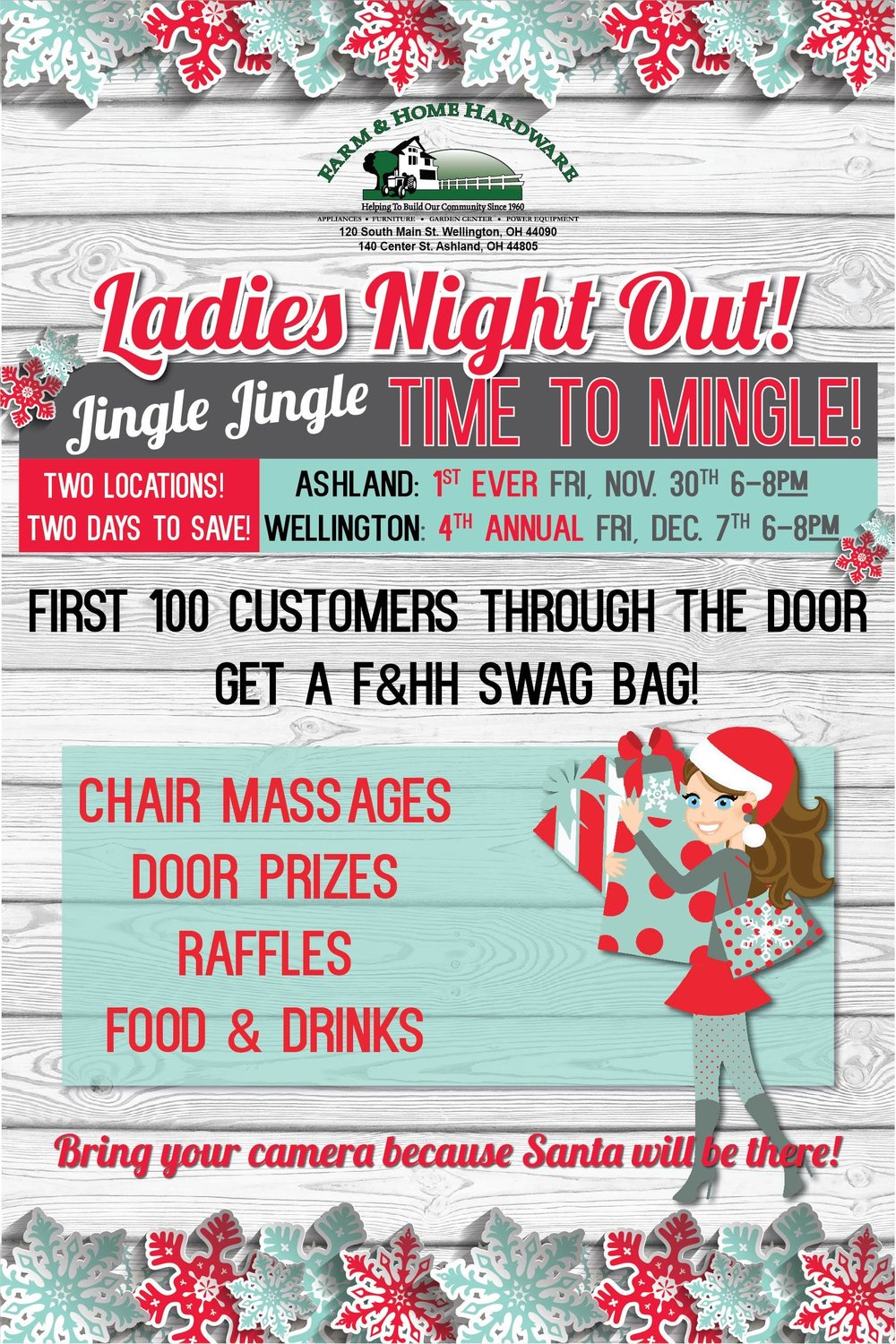 Farm & Home Hardware Ladies Night Out Wellington 2018