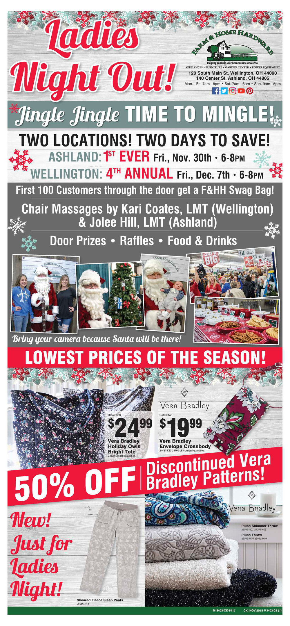 Farm & Home Hardware Ladies Night Out 2018 Pg. 1