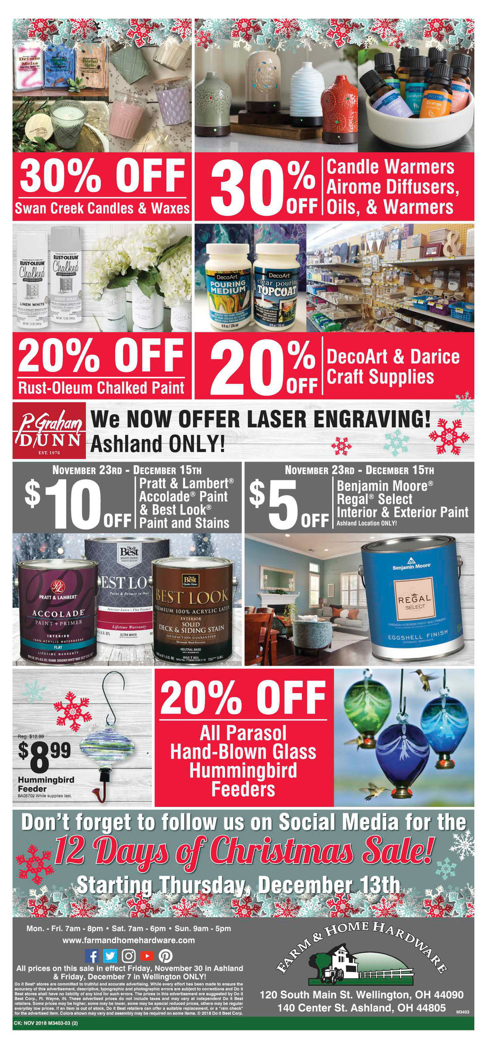 Farm & Home Hardware Ladies Night Out 2018 Pg. 2