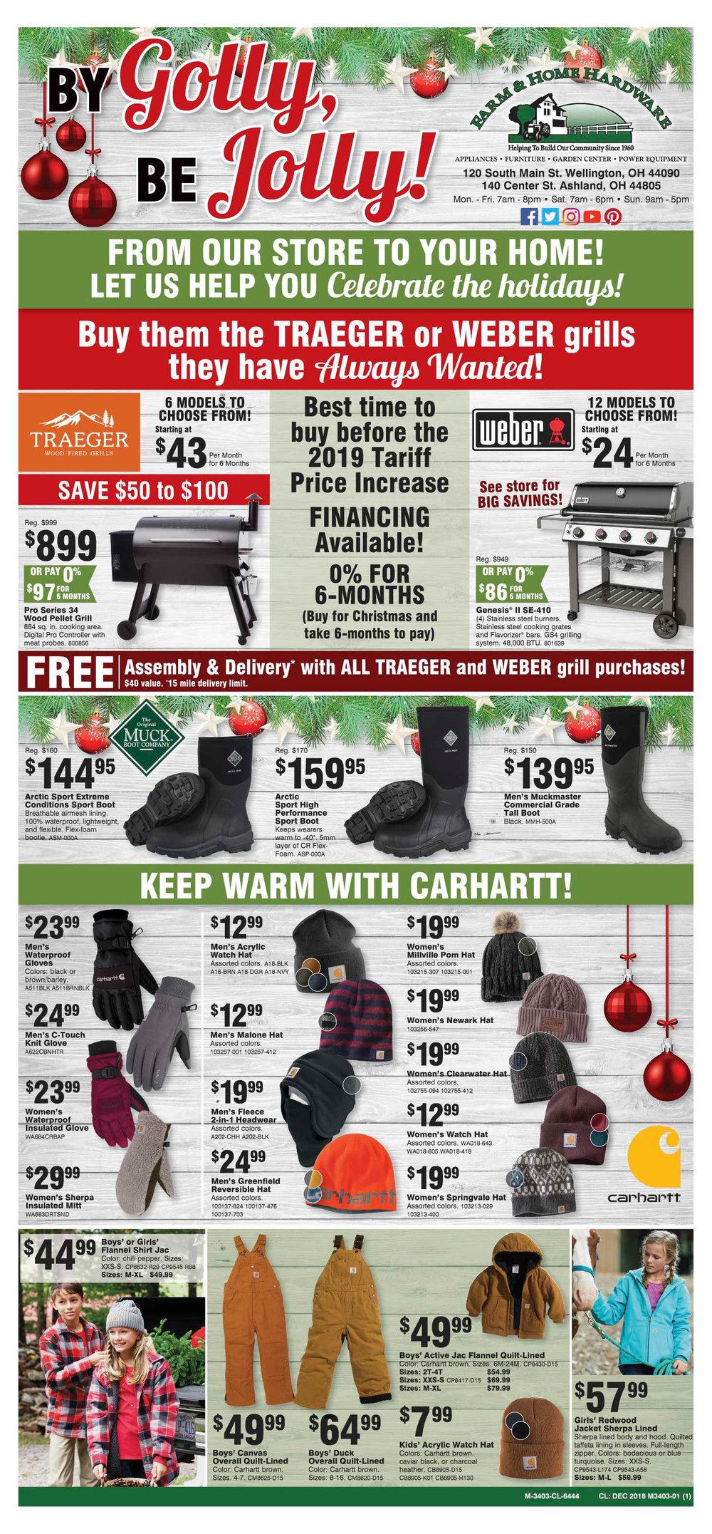 December Sales Flyer at Farm & Home Hardware