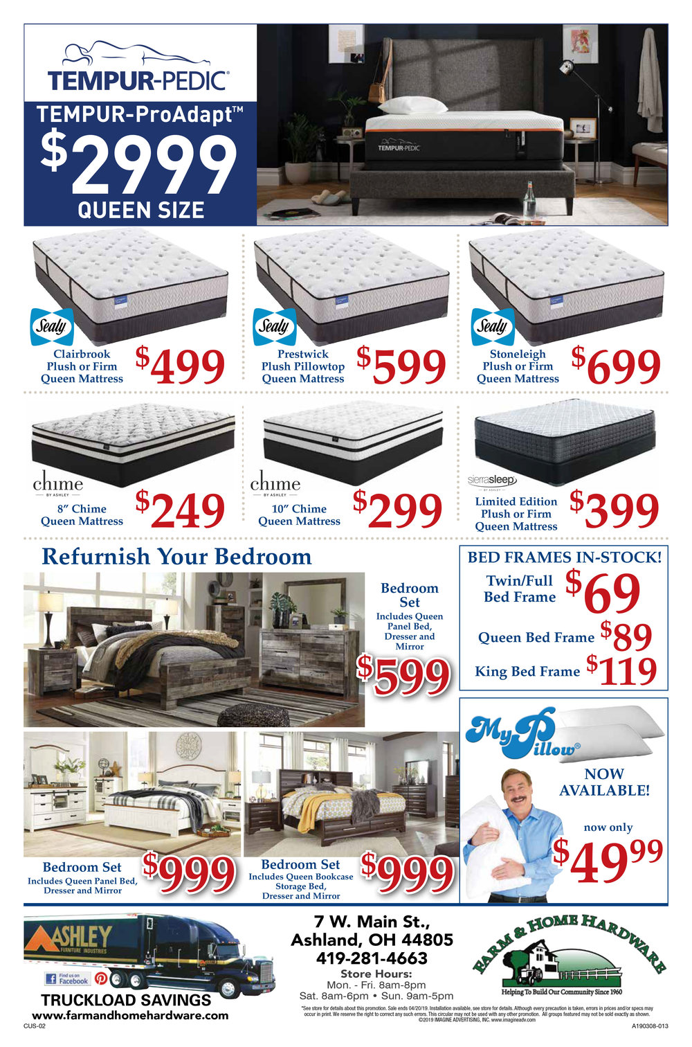 Ashley Furniture Tax Refund Sales Event Page 2