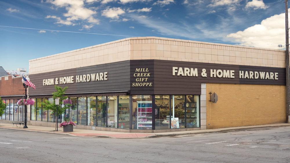 Farm & Home Hardware store location in Ashland, Ohio