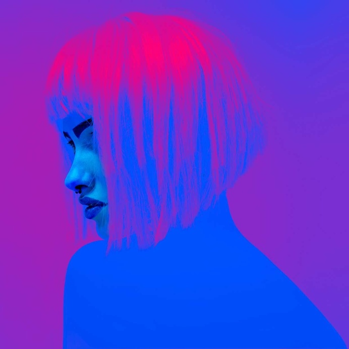 Neon-Colored Photography by Slava Semenyuta