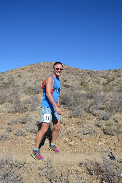 Colossal Vail 50/50 Arizona Trail Run (I did the 50k, 34 miles - November 2016).  Photo by Damion Alexander.