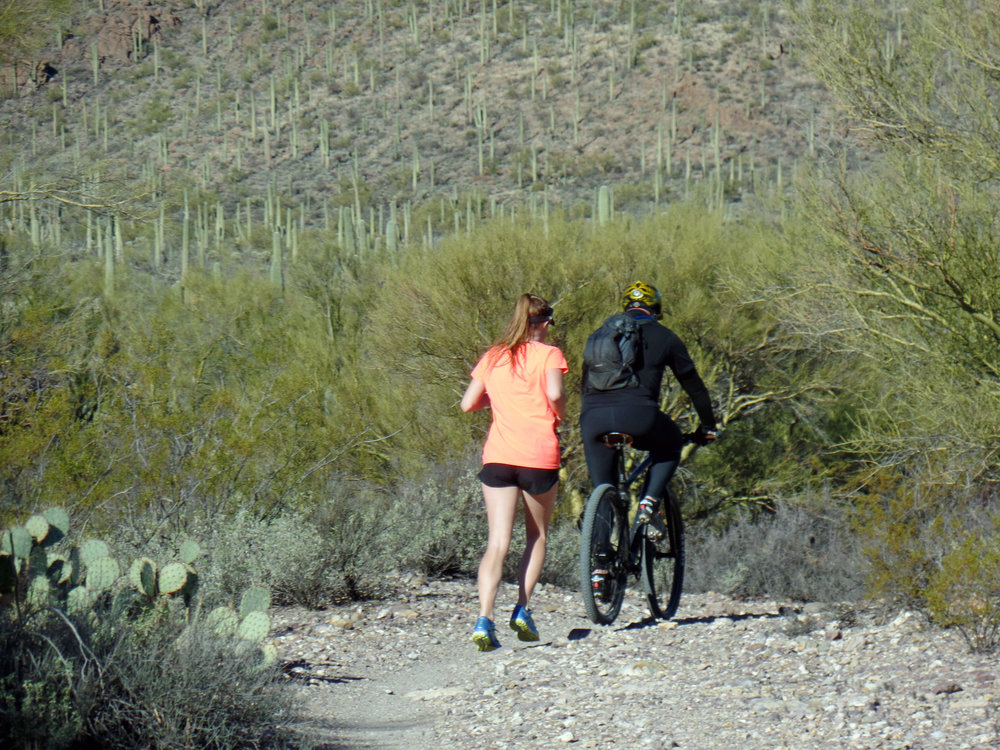 Training ride where we came across a lost Colorado State University runner and guided her back to the trail head.