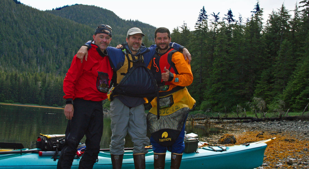 L to R - Me, Scott (guide), Trever