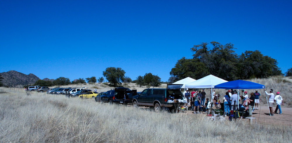 Aid Station at the Old Pueblo Endurance Run