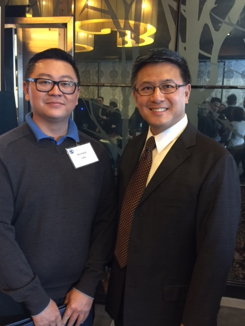 Richard Lee, VP & John Chiang, CA State Treasurer