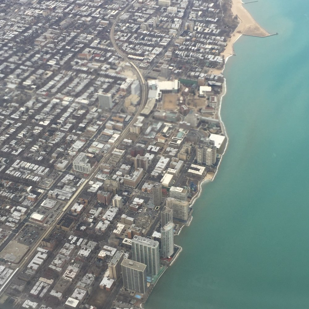 On my way to Sweet Home, Chicago!