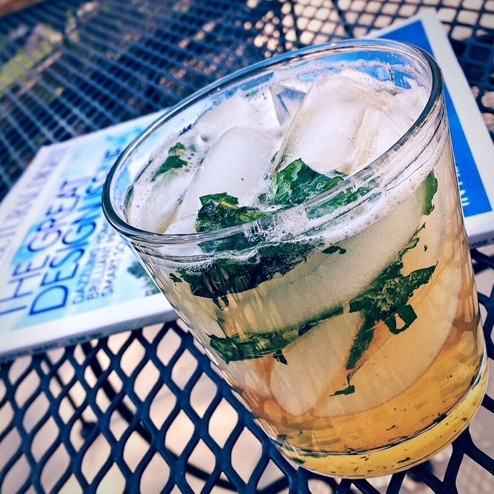 I still think Mint Juleps taste like feet.