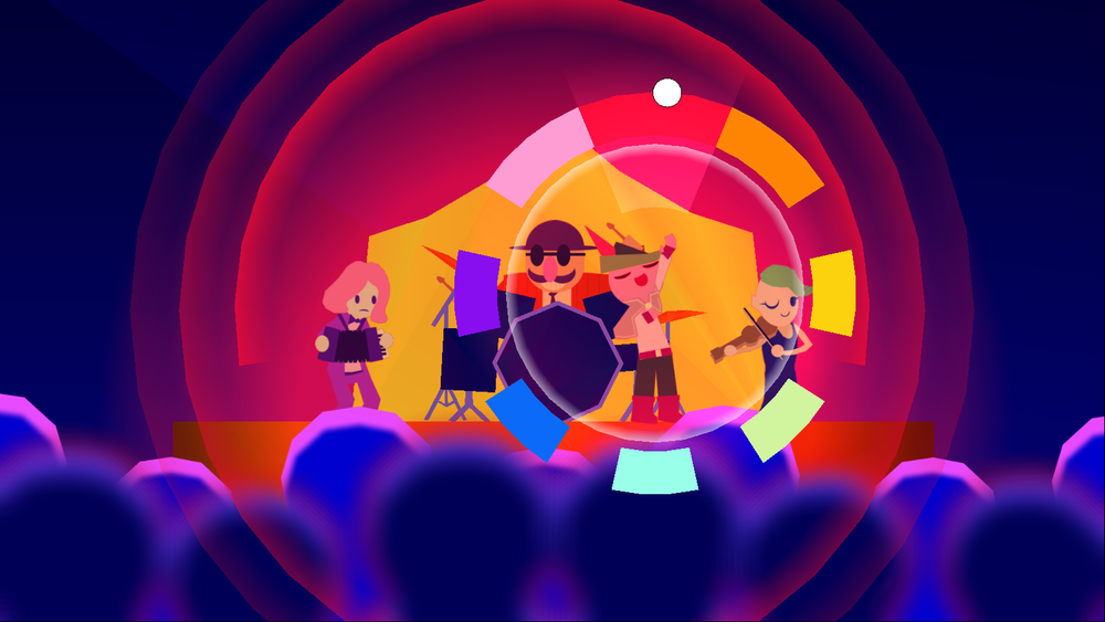 Image taken from Wandersong's  presskit .