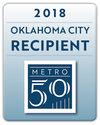 2018 Metro 50 Recipient