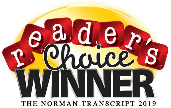 2019 Norman Transcript Reader's Choice Winner