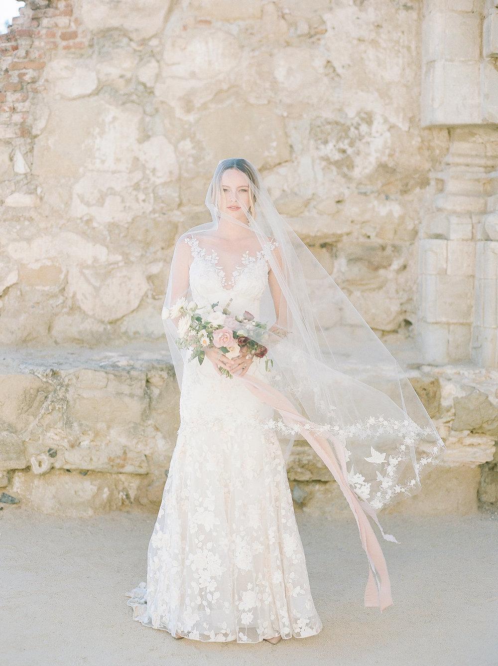 Spanish Mission Editorial |  Featured on Wedding Sparrow   San Juan Capistrano, CA