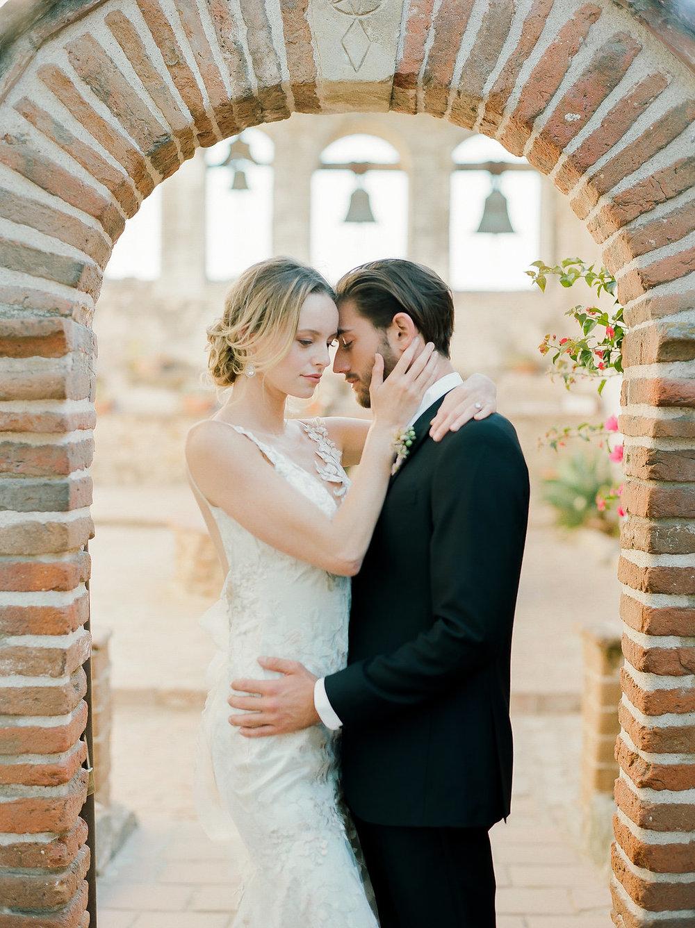 Spanish Mission Style Wedding Ideas Summer Flowers Finding Flora San Juan Capistrano European Venues California Bride and Groom Wedding Bells Bridals